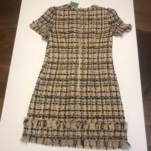 NWT Tweed Kate spade dress 00